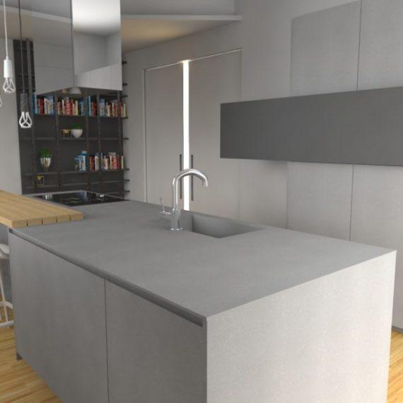 Realizzazioni e interior design spotti arredamenti for La cucina di altamura varese
